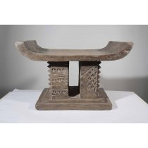 African Baoule Stool (NLM)